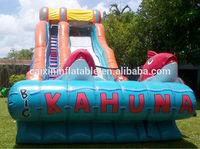 Big Kahuna inflatable water slides adult tube water slide