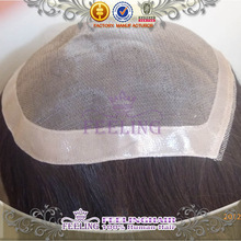 100% hunam hair high quality toupees for black male wig