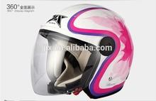 ECE JET,Motorcycle Helmet, half helmet,ECE certification,JX-B213