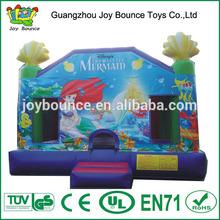 inflatable mermaid,the little mermaid bouncy castle,little mermaid toys
