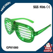 New Kanye West stylel light up disco strobe light flashing 2015 led party glasses GP81080