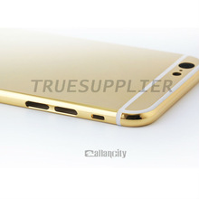 Shiny hard phone case for iphone 6 metal case
