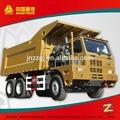 Howo 6- jantlar damperli kamyon, 50ton/70ton madencilik satılık kamyon dökümü