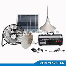 10W Solar Light+MP3/Radio+Fan+4PCS Solar Light (ZY-102)