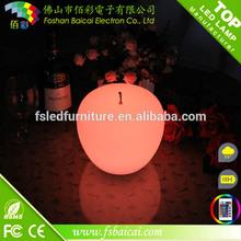 LED apple/led christmas light/color changing led christmas light