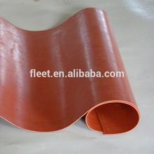 China silicone fiberglass cloth anti static high temp resistance 0.15mm-2.0mm thickness max width 2450mm
