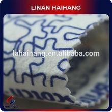 China manufacturer printed polypropylene felt needle punch nonwoven fabric