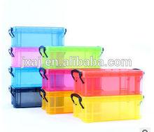 Plastic bin mini candy color car receive a box creative receive a locker