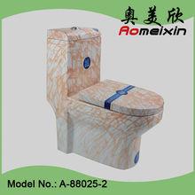 Foshan sanitary ware ceramic water closet one piece toilet bowl