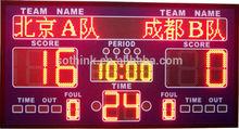 Multipurpose numer display electronic LED manual scoreboard