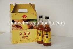 Professional design custom cardboard 4 wine pack bottle box carriers