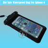 Good Protect Big Size Eco-friendly PVC IPX8 Waterproof Cell Phone Bag Portable On Beach P5529-H26
