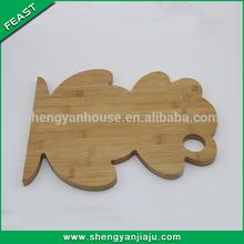 2014 new design hot sale teak cutting boards made in china