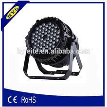 HY-L16 led stage spotlight 64 3w waterproof led par 64 3 watts