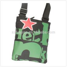 custom printed shoulder bag for mini laptop