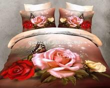 deuxe europe style bedding set 100%cotton 4pcs bedding set tencel bedding set