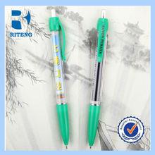 New promotional pull out banner pen/flag pen/message pen