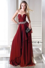 2015 Fashion Design Sweetheart Sleeveless Burgundy Crystal Fabric B'Dazzle prom dress 35692 Latest-Dress-Designs-Photos