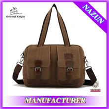 2014 new arrival brand designer business tote handbag men PU bag manufacture in China