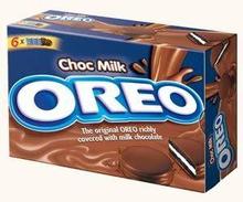 Oreo Milk-Chocolate 10x264gr Biscuits