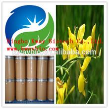 Herb Medicine Natural Genistein 98%HPLC / Broom Extract