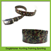 2014 hot selling retractable cervical camouflage dog collars for hunting