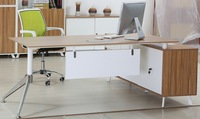 2014 High end L shape wood Executive desk | manager table