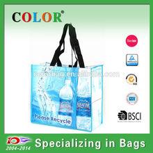 Foldable cheap shopping RPET bag,PET bag wholesale