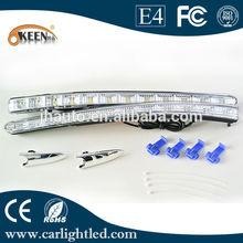 12v Led Daytime Running Light, Auto Front Light For 2013 Toyota Crown