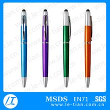 LT-BP018 plastic penis stylus pen ballpoint pen