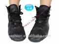 3.5cm preto brilhante de alta qualidade sapatos de dança jazz dance sapátilhas para homens
