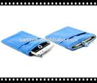 cheap phone velvet bag, drawstring bag/pouch with beads