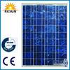 high quality high efficiency 100w solar module 100w poly solar panel