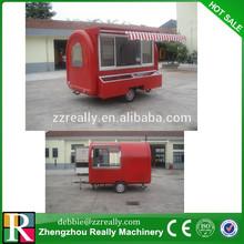 Hamburger vending carts/Mobile Kitchen Truck Food Van/sandwich trailer