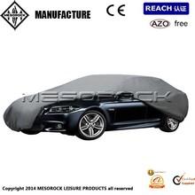 Universal Car Protective Nylon Cover Breathable Waterproof Outdoor Indoor Fleece Lining