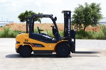 Liugong diesel forklift trucks CLG2050H with 5 tons small lift