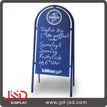 Hot sale free standing folding blackboard