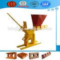 Petites industries de la brique d'argile faisant la machine