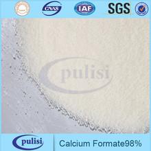 Bon prix de calcium formate 98% pour le ciment