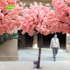 decorative artificial wooden tree silk flowers cherry blossom tree for decorations