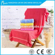 100% cotton towel for hotel/motel/sauna/bath/beach and so on