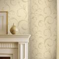 smd807 de alta calidad de diseño de hojas de la planta revestimiento de paredes de papel pintado