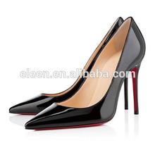 Brand design popular sex Women high heel shoes black