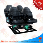 Home theater 5D cinema electrical/hydraulic new system for action movies Guangzhou factory