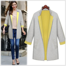 MS60160W wholesale women air cotton long winter coats for ladies