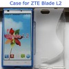 Factory Price S line TPU case for ZTE Blade L2 Mobile Phone Cover