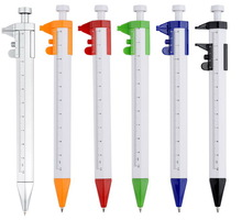 Novelty Color plastic ruler Ball Point Pen,back school promotion pen