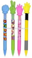 Novelty Color plastic finger Ball Point Pen,office promotion pen