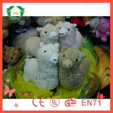 HI custom Plush Alpaca Toy/Stuffed Animals Baby toy/alpaca plush toys