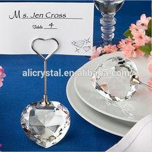 Wedding Place Card Holder --------Crystal heart